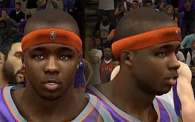 NBA 2K13 Jermaine O'Neal Cyberface Patch