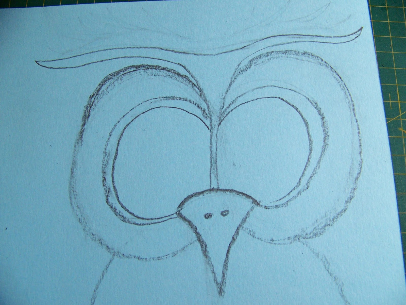 how to draw a cute owl step by step