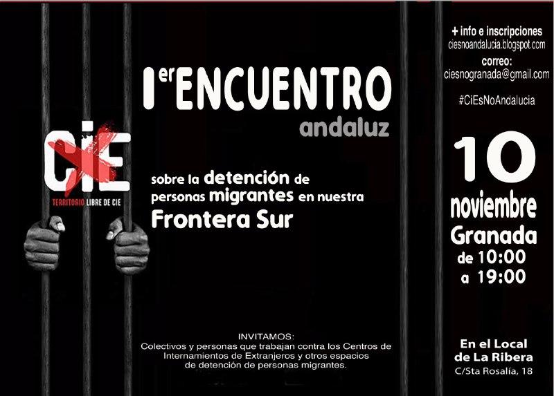 1er ENCUENTRO ANDALUZ CIES NO (Inscripciones: antes 6 noviembre).
