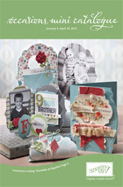 NEW Occasions Mini Catalog