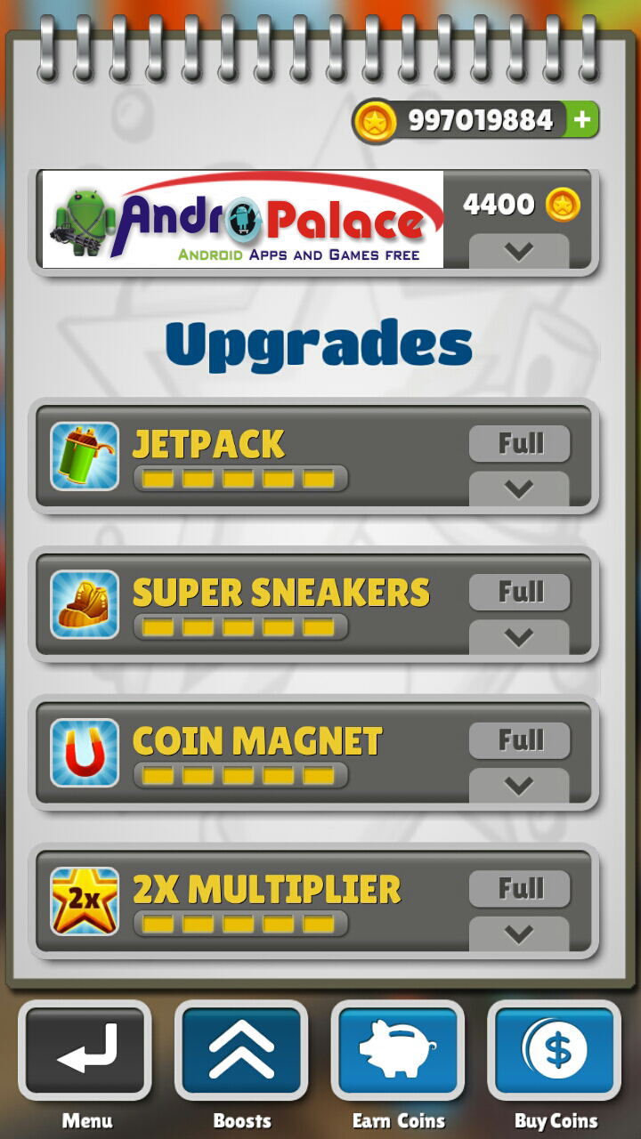 Subway Surfers Android Unlimited Coins(No Root)