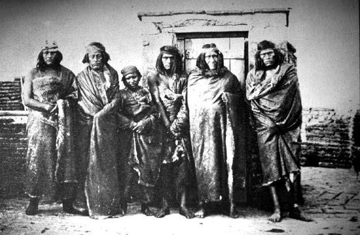 La Nación Charrúa Charruas-prisioneros