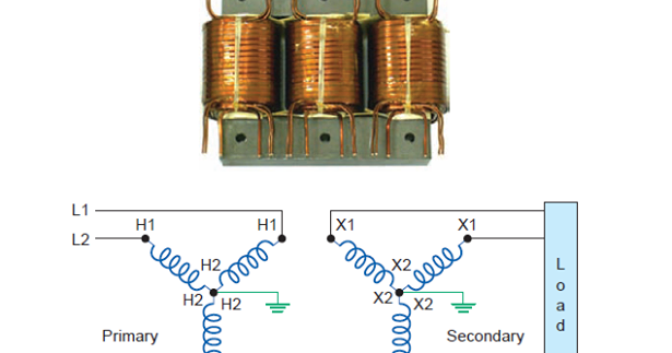 common wye and delta transformer connections