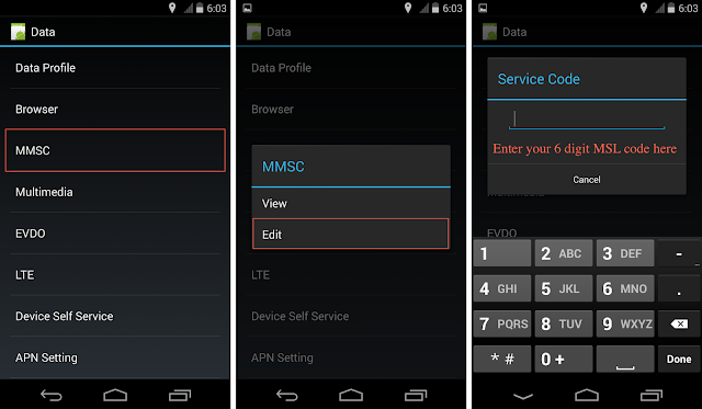 Nexus 5 Ting MMS Settings