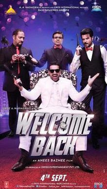 Welcome Back(2015)Hindi Movie HD