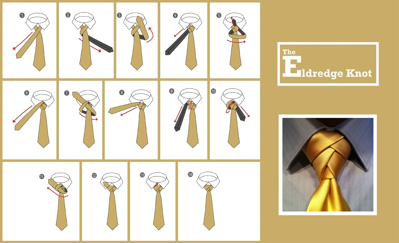 Most fashionable tie knot 43