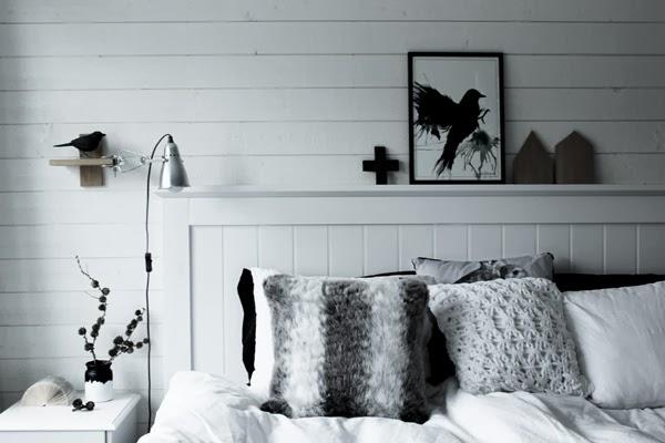 svart, vitt& rött Mer sovrum!