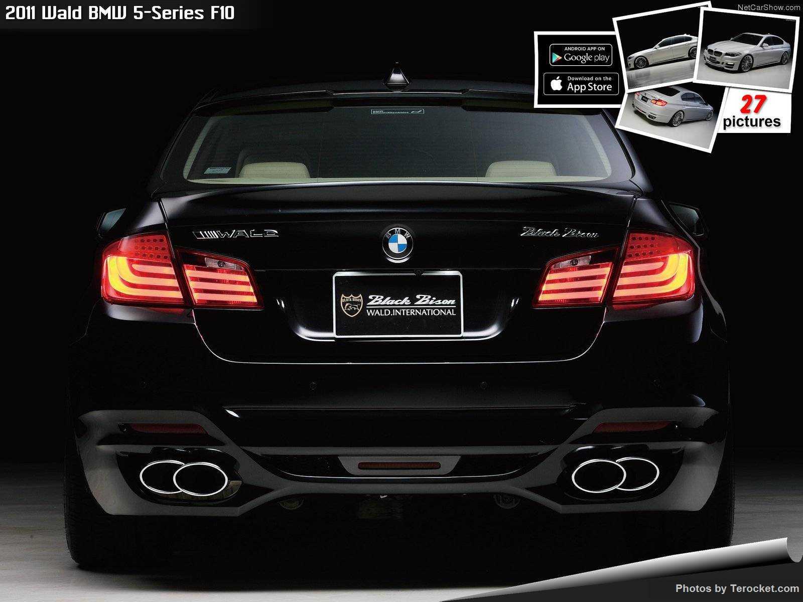 Hình ảnh xe độ Wald BMW 5-Series F10 2011 & nội ngoại thất