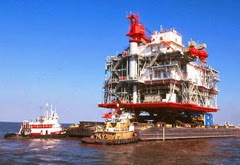 Petronius Oil Platform
