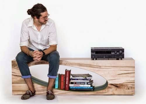 Multifunctional furniture design by Nersi Nasseri