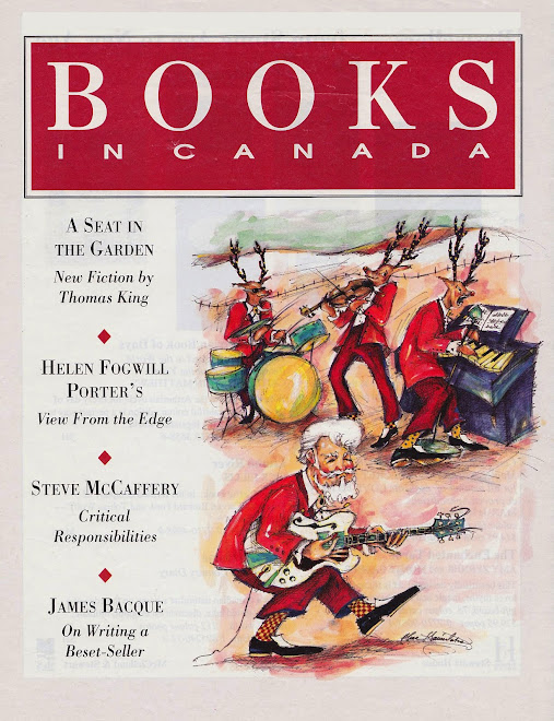 Rock and Roll Christmas, Books in Canada Magazine Cover illustration