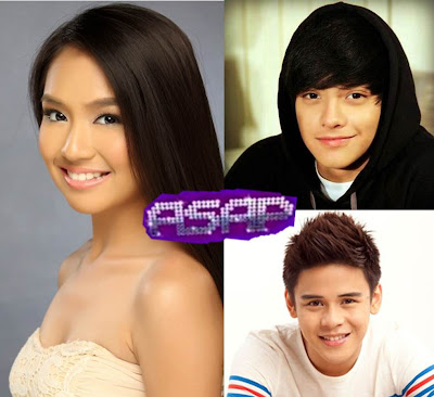 Kathryn Bernardo, Daniel Padilla and Khalil Ramos on ASAP 2012 this September 23