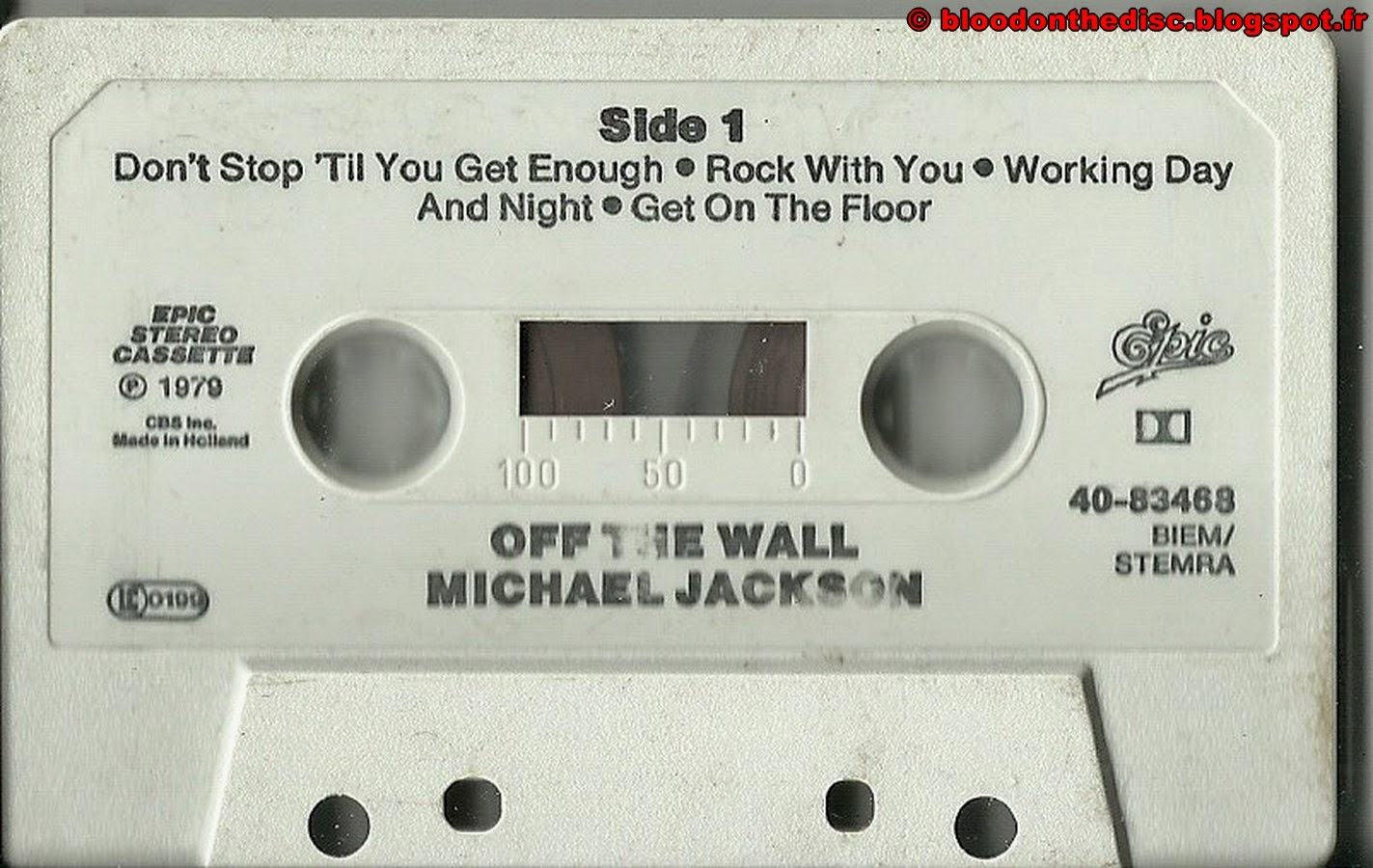Off The Wall K7 Side 01