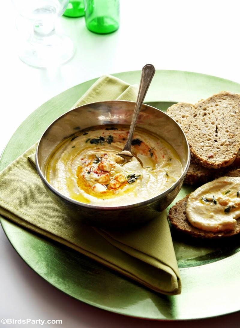 Entrée Rapide et Facile: Recette Houlous ou Crème de Pois Chiches
