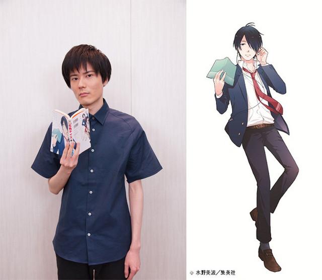 Kouki Uchiyama dublador de Tsuyoshi Naoe do anime shoujo Nijiiro Days