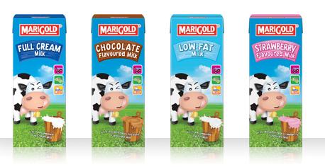 MARIGOLD-UHT Milk Dalam 4 Pilihan Yang Menyihatkan