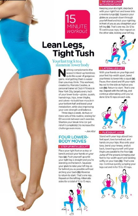 Health and Fitness: 1 Lean Legs Tight Tush