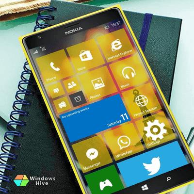 Windows 10 on Lumia 1520