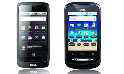 new Dell XCD28 Smart phone