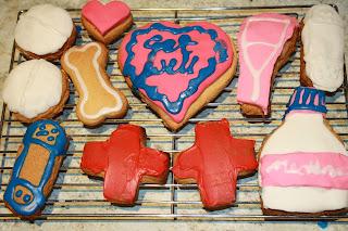 get well soon cookies
