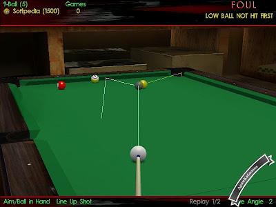 Virtual Pool 3 Screenshots