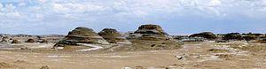 Tsaidam Desert, Qinghai Province, China.