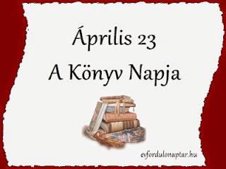 Április 23 - A könyv napja