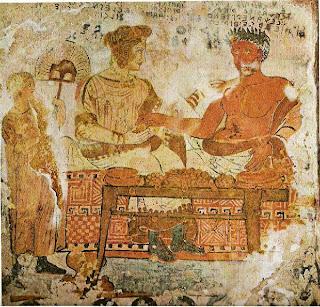 Etruscan dinner