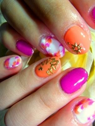 nail design winter art