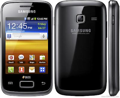 Spesifikasi dan harga Samsung Galaxy Y Duos S6102 - Samsung Galaxy Y
