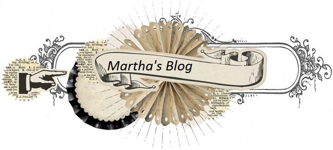Martha's Blog