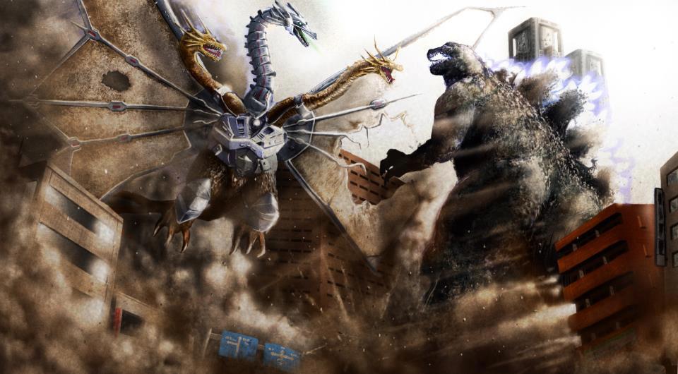 Kaiju Battle: SATURDAY SHOWCASE : Godzilla Vs. King Ghidorah