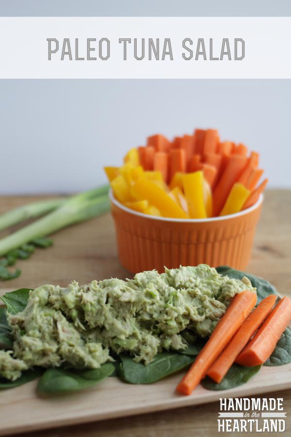Paleo Tuna Salad, HandmadeintheHeartland.com
