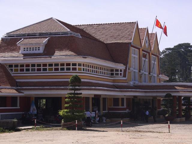 Train station of Dalat (Vietnam)
