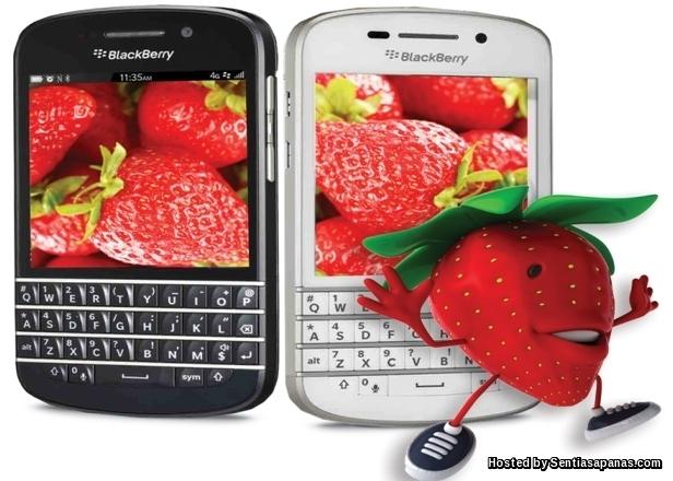 Blackberry smartphone Strawberry