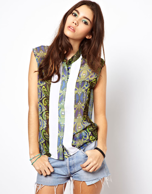 africa blouse