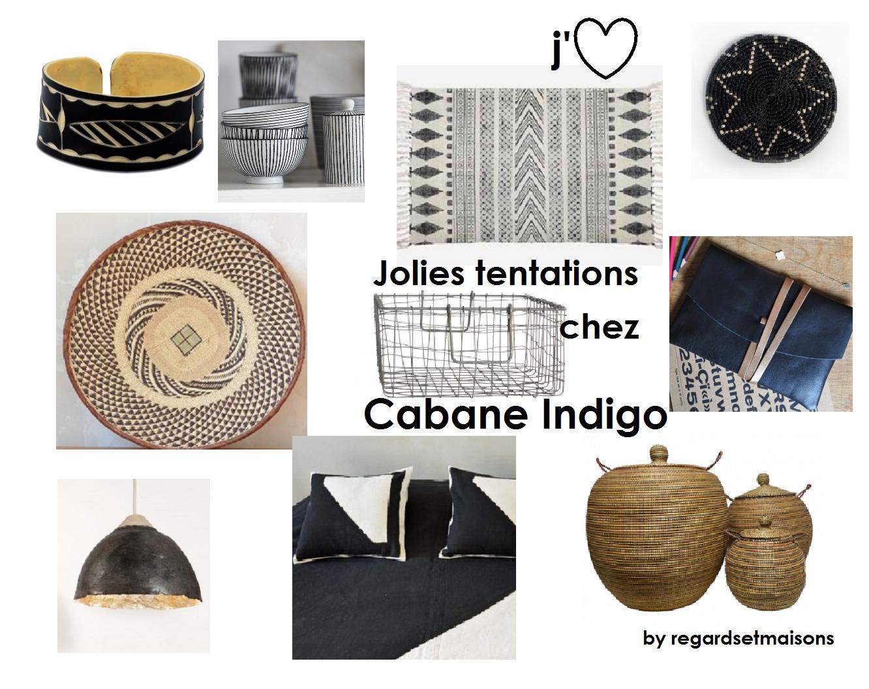 Cabane Indigo regardsetmaisons: mes jolies tentations chez cabane indigo