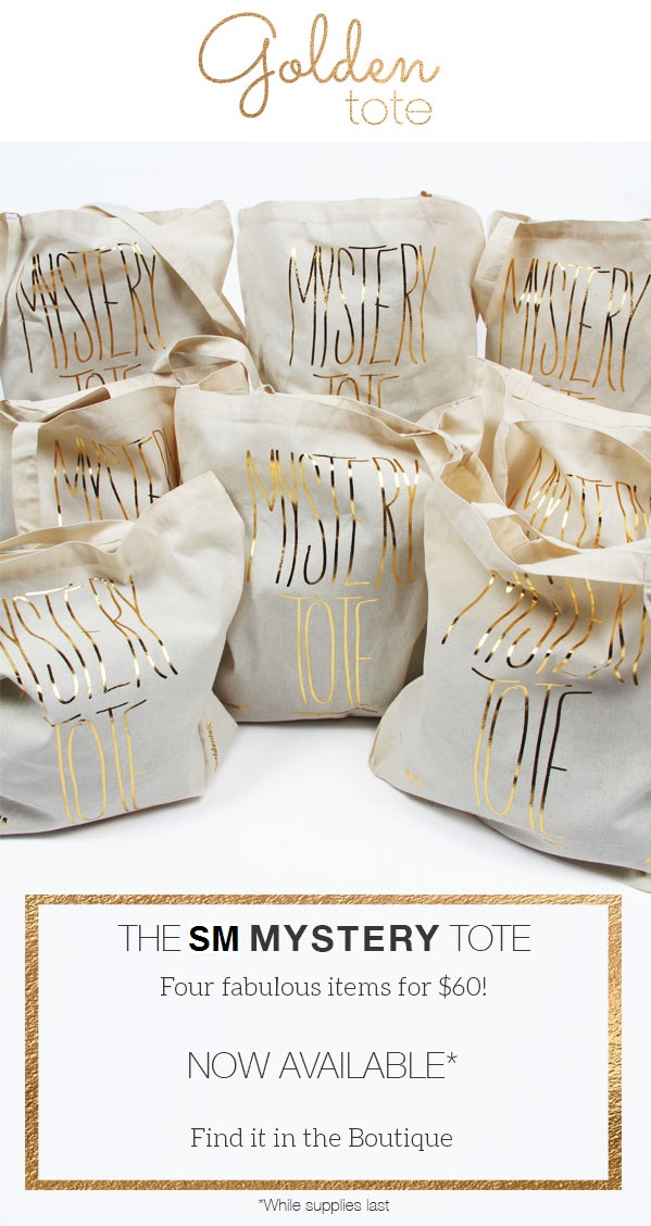 Golden Tote Mystery Tote Sale