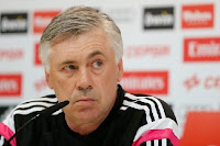 On the move? Ancelotti is reportedly set to move to City
