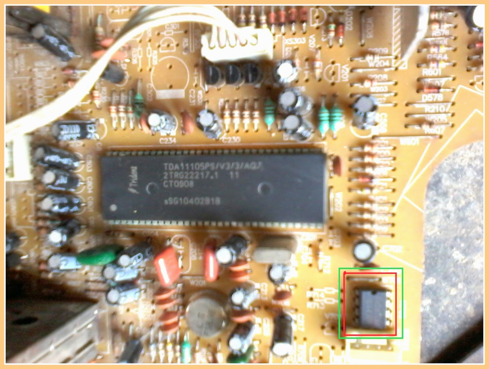 Color Tv Circuit Diagram Tda11105 Tda11106 Signal Processor T V Click On The Schematic To Magnify
