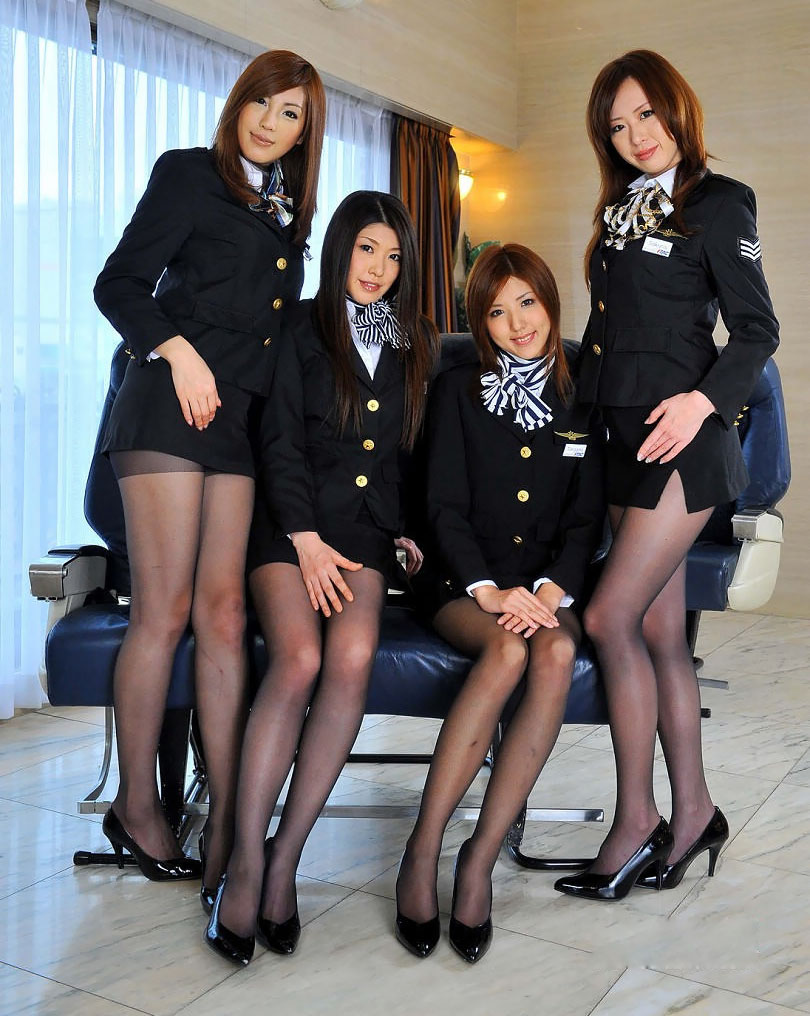 Hot Flight Attendant Porn