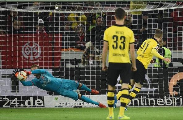 Mainz 0-2 Borussia Dortmund - Bundesliga