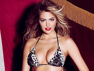 Kate Upton boobs photoshoot for Beach Bunny's 2012 Lola Cruise Collection