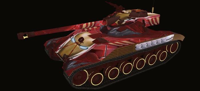 Chatillon 25 t танков уничтожено5
