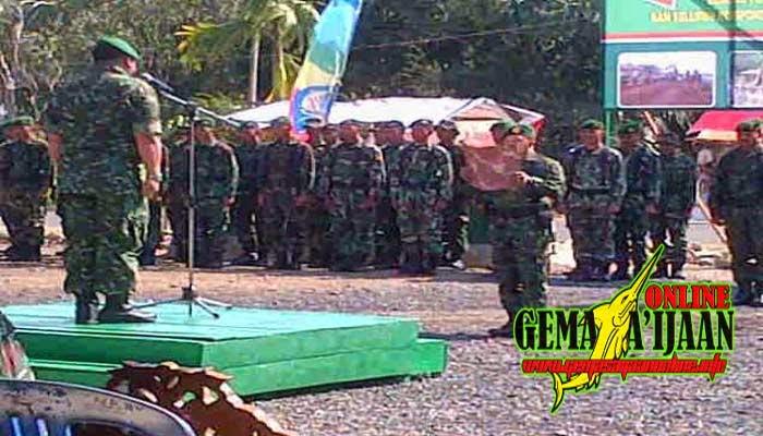 Pembukaan TMMD Ke-93 di Desa Buluh Kuning