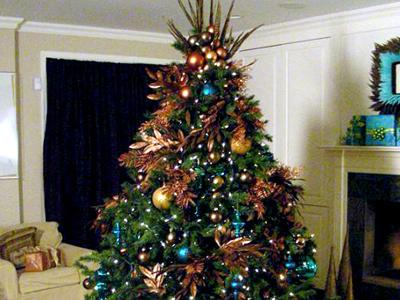 @Top  20 @ Chrisrtmas Tree Decoration Ideas | Christmas Tree Decoration Ideas Images 20015