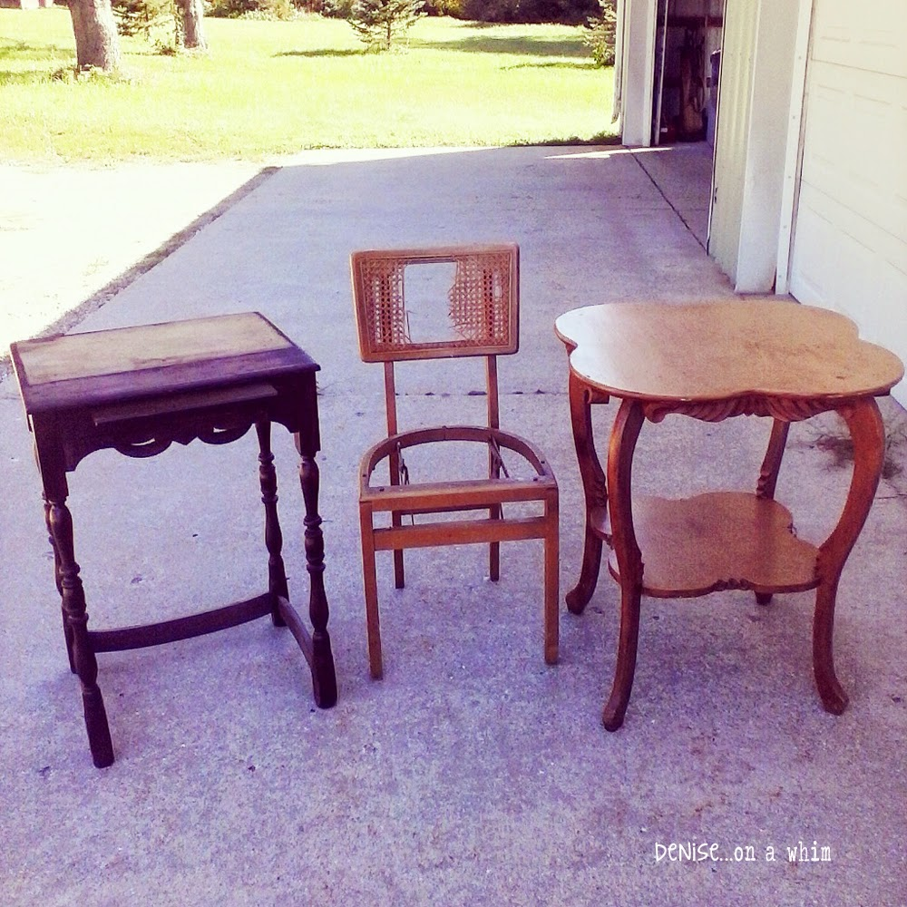 Awesome vintage furniture finds!