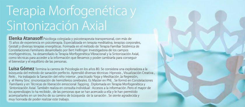 Terapia morfogenética y  sintonización axial