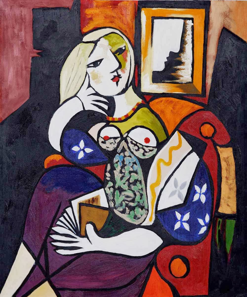 Pablo Picasso - Woman with Book