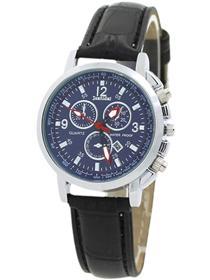 Bisnis BlueLans Faux Leather Quartz Analog Wrist Watch Blue Bikin Untung